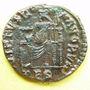 Coins Gratien (367-383). Centénionalis. Thessalonique, 378-383. R/: Rome