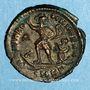 Coins Gratien (367-383). Maiorina.Cyzique. 3e officine, 378-383. R/: l'empereur