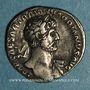 Coins Hadrien (117-138). Denier. Rome, 118. R/: la Fortune