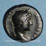 Coins Hadrien (117-138). Semis. Rome ou Antioche, 125-128. R/: lyre