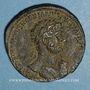 Coins Hadrien (117-138). Sesterce. Rome, 119.  R/: Hadrien