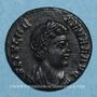 Coins Hélène, mère de Constantin I. Centenionalis réduit. Trèves, 2e officine. 337-340. R/: la Paix