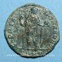 Coins Honorius (393-423). Maiorina. Nicomédie. 3e officine, 393-395. R/: Honorius