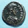 Coins Honorius (393-423). Silique. Milan 395-402. R/: Victoire