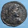 Coins Jovien (363-364). Double maiorina. Thessalonique, 1ère officine. R/: l'empereur debout. R !