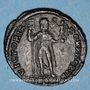 Coins Jovien (363-364). Double maiorina. Thessalonique, 4e officine, 363-364. R/: l'Empereur