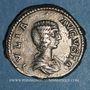 Coins Julia Domna, épouse de Septime Sévère († 217). Denier. Rome, 208. R/: la Joie