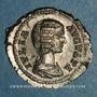 Coins Julia Domna, épouse de Septime Sévère († 217). Denier. Rome, 209. R/: Junon
