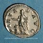 Coins Julia Maésa, grand-mère d'Elagabale († 226). Denier. Rome, 218-220. R/: la Piété