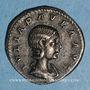 Coins Julia Paula, 1ère épouse d'Elagabale. Denier. Rome, 220. R/: la Concorde