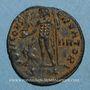 Coins Licinius I (308-324). Follis. Cyzique, 4e officine. 316-317. R/: Jupiter