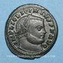 Coins Licinius I (308-324). Follis. Siscia. 4e officine, 313-315. R/: Jupiter