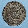 Coins Licinius I (308-324). Follis. Thessalonique. 1ère officine, 312. R/: Jupiter
