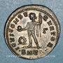 Coins Licinius I (308-324). Follis. Thessalonique, 3e officine, 312. R/: Jupiter
