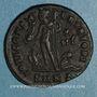 Coins Licinius II, césar (317-324). Follis. Cyzique. 4e officine. 318-324. R/: Jupiter
