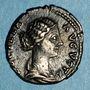 Coins Lucille, épouse de Lucius Vérus (+183). Denier. Rome, 166-169. R/: Junon