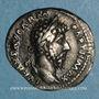 Coins Lucius Vérus (161-169). Denier. Rome, 166. R/: Victoire