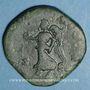 Coins Lucius Vérus (161-169). Sesterce. Rome, 167. R/: Victoire