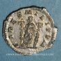 Coins Macrin (217-218). Denier. Rome, 217-218. R/: la Fidélité