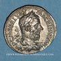 Coins Macrin (217-218). Denier. Rome, 218. R/: l'Equité