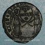 Coins Magnence (350-353). Maiorina. Trèves, 1ère officine, 350. R/: deux Victoires