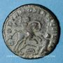 Coins Magnence (350-353). Maiorina. Trèves, 2e officine, 350. R/: Magnence
