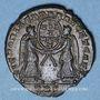 Coins Magnence (350-353). Maiorina. Trèves, 2e officine, 352. R/: deux Victoires