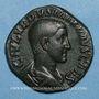 Coins Maxime, césar sous Maximin I Thrax (235-238). Sesterce. Rome, 235-236. R/: instruments sacerdotaux