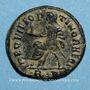 Coins Maximien Hercule († 310). Follis posthume. Rome, 1ère officine. 317. R/: Maximien