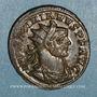 Coins Maximien Hercule, 1er règne (286-305). Antoninien. Rome, 7e officine, 290-291. R/: Jupiter
