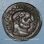 Coins Maximien Hercule, 1er règne (286-305). Follis. Ticinum, 1ère officine, 295-299. R/: Génie