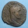 Coins Maximin I Thrax (235-238). Sesterce. Rome, 235-236. R/: la Fidélité militaire
