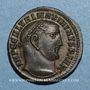 Coins Maximin II Daza, auguste (309-313). Follis. Nicomédie, 3e officine, 312. R/: Génie