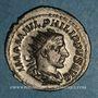 Coins Philippe I (244-249). Antoninien. Rome, 244-245. R/: la Sécurité