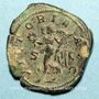 Coins Philippe I (244-249). Sesterce. Rome, 244-245. R/: la Victoire