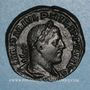 Coins Philippe I (244-249). Sesterce. Rome,  248. R/: cippe