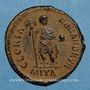 Coins Théodose I (379-395). Maiorina. Antioche, 1ère officine, 393-395. R/: Théodose
