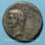 Coins Tibère (14-37). Drachme. Césarée de Cappadoce, 33-33