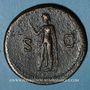 Coins Titus, auguste (79-81). Sesterce. Rome, 80. R/: l'Espérance