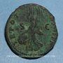 Coins Trajan (98-117). As. Rome, 101-102. R/: Victoire
