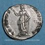 Coins Trajan (98-117). Denier. Rome, 103-111. R/: la Paix