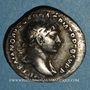 Coins Trajan (98-117). Denier. Rome, 114. R/: la Félicité