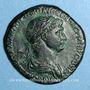 Coins Trajan (98-117). Sesterce. Rome, 116. R/: La Félicité