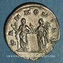 Coins Trajan Dèce (249-251). Antoninien. Rome, 250-251. R/: les deux Pannonies