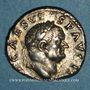 Coins Vespasien (69-79). Denier. Rome, 70-72. R/: simpulum,...