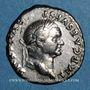Coins Vespasien (69-79). Denier. Rome, 73. R/: Vespasien
