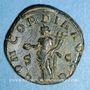 Coins Volusien, auguste (251-253). Sesterce. Rome, 252. R/: la Concorde