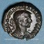 Coins Aurélien (270-275). Tétradrachme. Alexandrie, an 6 (274-275). R/: aigle debout à droite