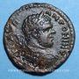 Coins Caracalla (198-217). Bronze. 22 mm. Stobi. R/: Victoire