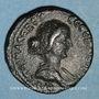 Coins Faustine jeune, épouse de Marc Aurèle. Bronze. Neapolis, an 88 (= 159-160)